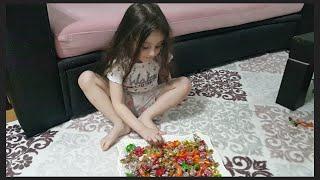 Bayram Şekerlerimizi Topladık Hırsız Şekerlerimizi Çaldı- Duru Ve Rüzgar Hırsızı Yakaladı