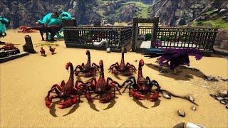 """ARK: Ragnarok Mod #13 - Đã Có Kibble Elemental Mình Đi Bắt """"Bò Cạp Apex"""" Để Chế Tạo Apex Kibble"""