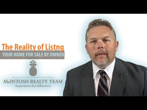 Savannah Real Estate Agent | The Reality of Listing Your Home For Sale By Owner