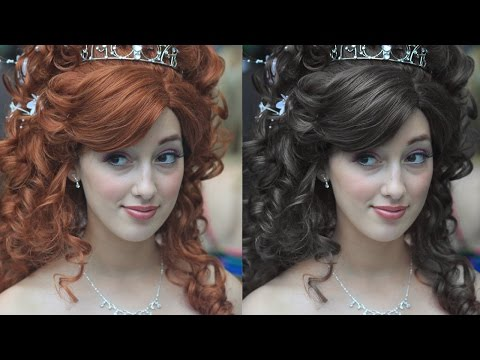 Change Hair Color in Photoshop Tutorial