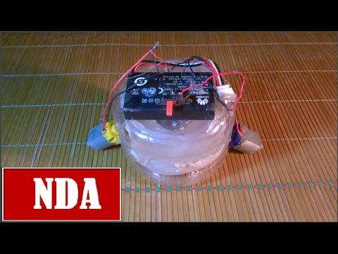 How to make automatic vacuum cleaner robot