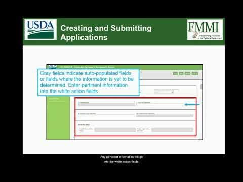 ezFedGrants Training: Application Management - Creating an Application