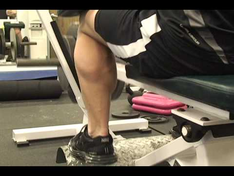 Personal Trainer Micah LaCerte- Massive Seated Calf Routine