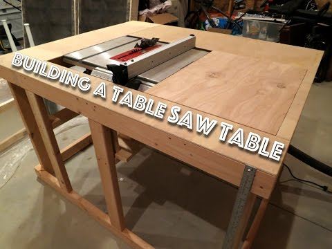 Making a cheap table saw table (Part 1)