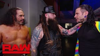 "Jeff Hardy comes face-to-face with ""Woken"" Matt Hardy and Bray Wyatt: Raw, April 9, 2018"