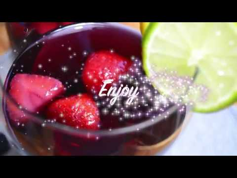 SKINNY RED & WHITE SANGRIA | Low Carb Diet | Ketogenic Diet (keto)