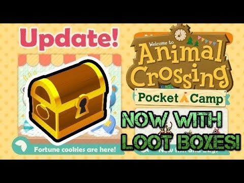 Animal Crossing Pocket Camp Just Got Loot Boxes!? Huge New Update!