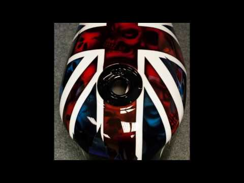 Learn How To Paint; Prep, Repair and Paint a motorbike/ Car/ Airbrush /Custom Paint