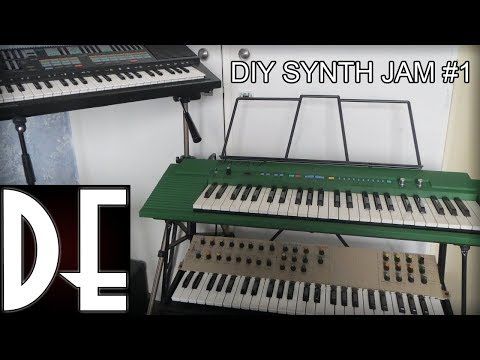 DIY Synth Jam #1 - SQK01 Arduino FM synth and Yamaha PSS-570