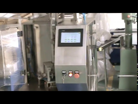 AMS 6 Automatic Teabag Packaging Machine with with thread, tag and pyramid bag