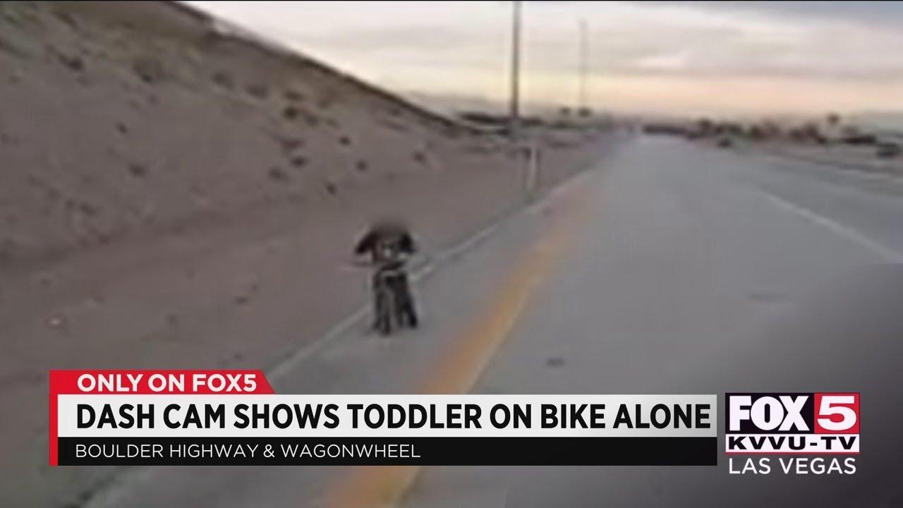 Toddler found alone on Boulder Highway in Las Vegas