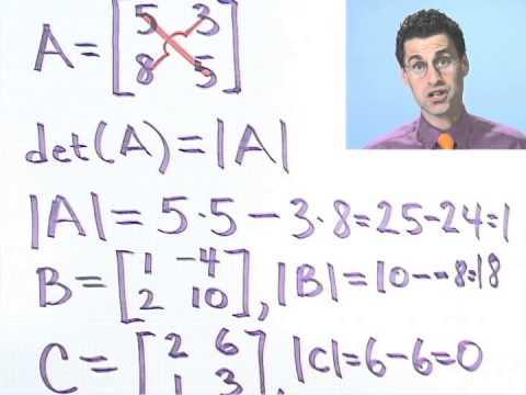 Evaluating 2 x 2 Determinants, Part 3