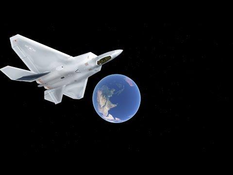 Flying To Space In Infinite Flight