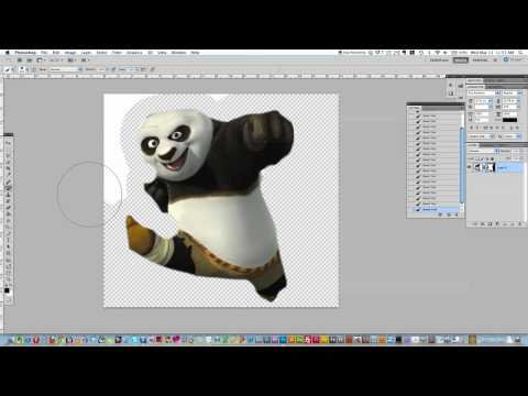 Photoshop Tutorial - Creating a Transparent Background with the Layer Mask