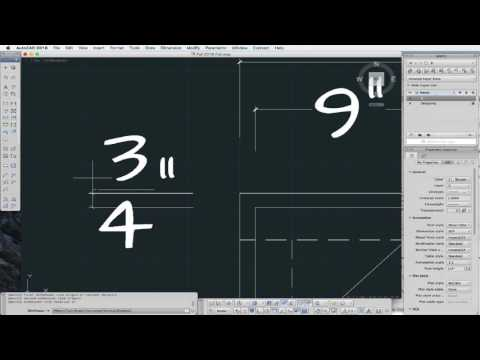 AutoCAD Setting Text and Dimension Styles