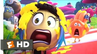 The Emoji Movie (2017) - Candy Crush Scene (5/10) | Movieclips