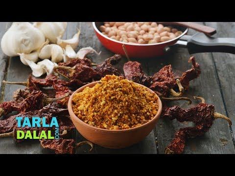 Dry Peanut Chutney Powder, Maharashtrian Shengdana Chutney by Tarla Dalal
