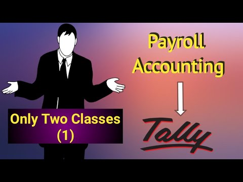 Payroll Accounting in Tally Erp9