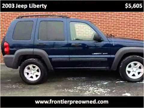 2003 Jeep Liberty Used Cars Lebanon PA