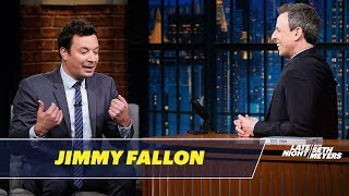 Download Jimmy Fallon and Seth Talk About SNL's Famous Parties Video