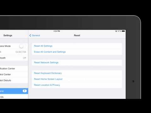 How to Clear Data From an iPad Before Selling to Gazelle : iPad Answers
