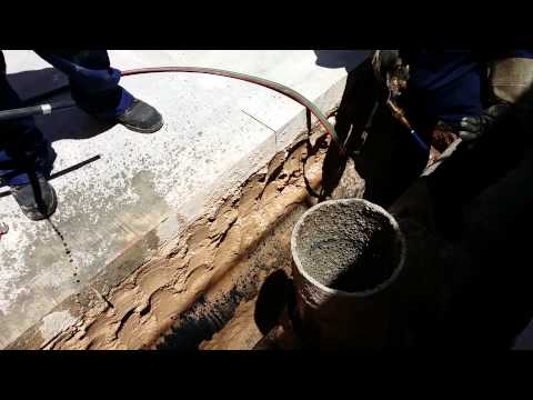 Cutting a 12 inch pipe with a cutting torch