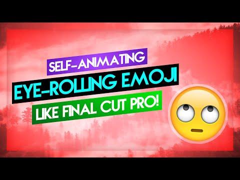 Blue Screen: Eye-Rolling Emoji | Pixel Film Studios' ProEmoji Inspired