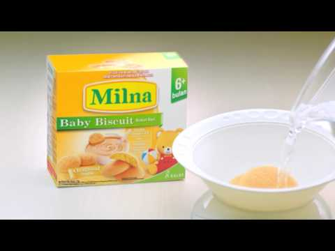 MILNA Baby Biscuit - English