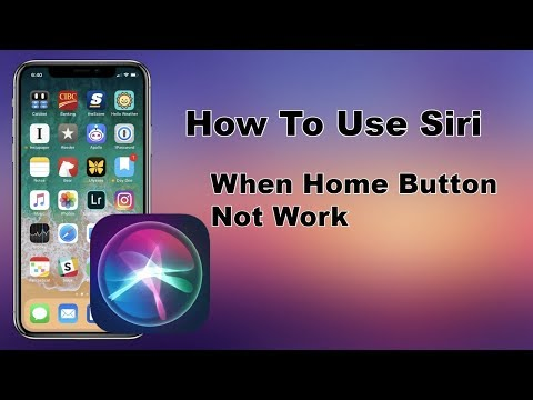 Use Siri When Home Button Not Work in iPhone X iPhone Xr All IOS Devices