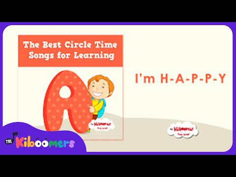 Circle Time Songs for Kids | Preschool Fun Learning |  The Kiboomers
