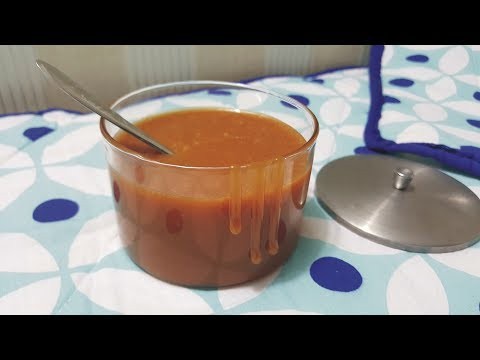 Caramel Sauce ||Quick & Easy||Just 3 Ingredients||Homemade Caramel Sauce By Sara's Haute Cuisine