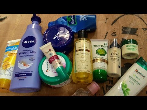 Winter Skincare & Hair care Products under rs 100 I Winter esential products 2017