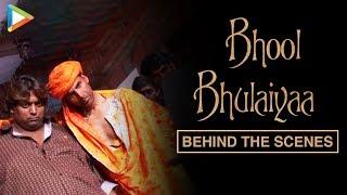 UNSEEN: Akshay Kumar shooting for Bhool Bhulaiyaa title track | On location | Ganesh Acharya