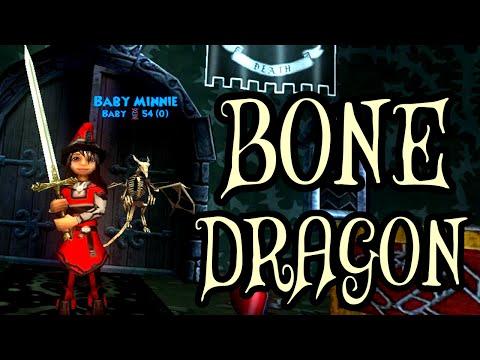 Wizard101: Level 78 [Death] - Bone Dragon Pet