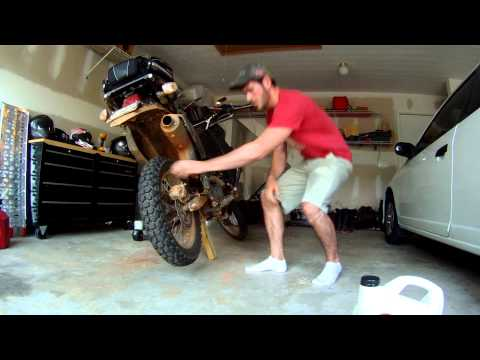 How to make your own motorcycle jack