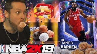 I became a Donut for JAMES HARDEN NBA 2K19