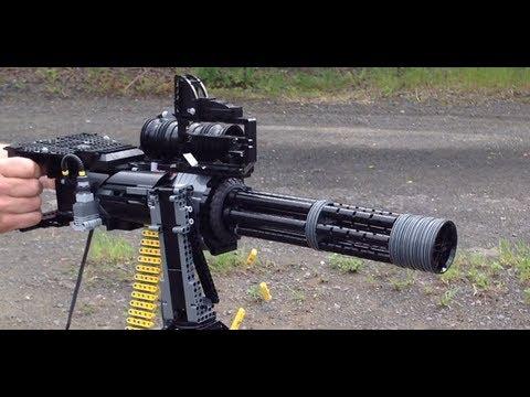 LEGO Minigun M134D Vulcan