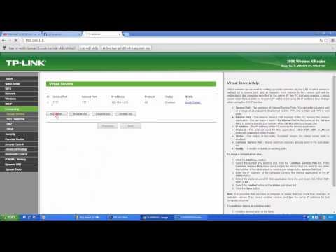 Hướng dẫn mở port modem TP - Link ở quán net đơn giản