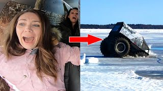 The Ice Broke and We Fell Through!!!!