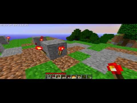 Minecraft Redstone Repeater Clock