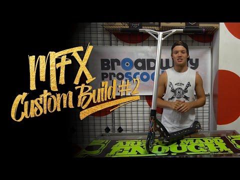 Madd Gear | Ryan Williams | MFX Custom Build #2 Pro Scooter