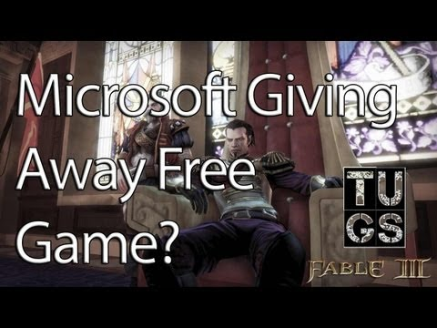 Microsoft Giving Away Free Game?  Fable 3 Free on Xbox Live Marketplace