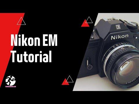 Nikon EM SLR 35mm Film Camera Tutorial | Forward Cameras | Vintage Film Camera Shop