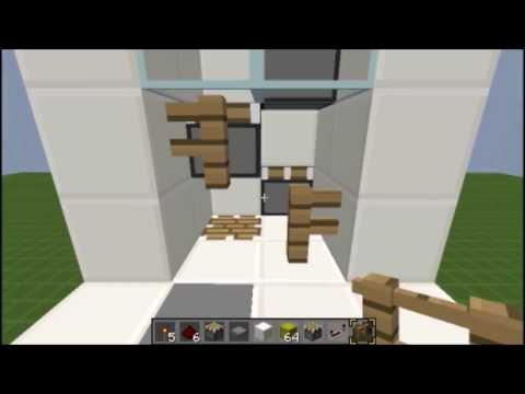 Piston Elevator (Minecraft 1.6.4)