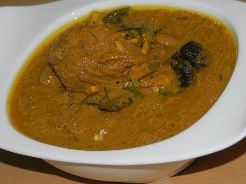 തൃശ്ശൂർ സ്റ്റൈൽ ഏട്ട മീൻ കറി /thrissur style catfish curry