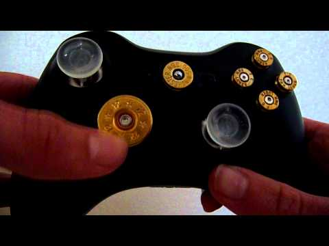 Custom Xbox 360 Controller With Bullet Buttons For Sale