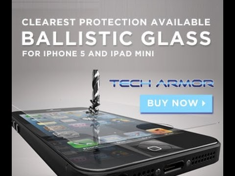 Tech Armor Ballistic Glass Installation Video