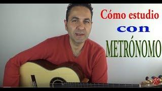 CÓMO ESTUDIO  CON METRÓNOMO, Tutorial (Jerónimo de Carmen) Guitarraflamenca