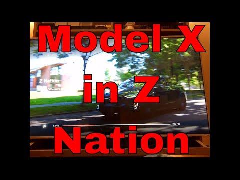 Tesla Model X in Z Nation By Netflix