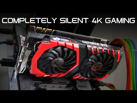 4K 60FPS WITH NO FANS? - How Long Can It Run? - MSI Gaming X GTX 1080 Ti